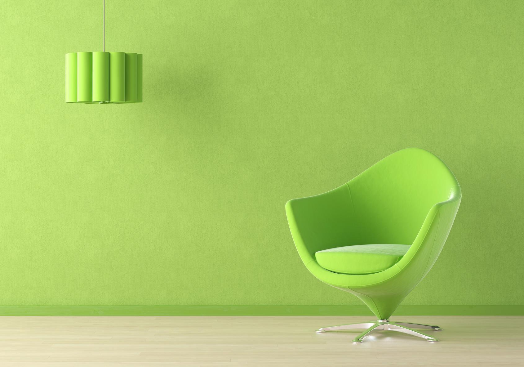 Beau Green Interior Scene